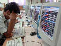 Equity benchmarks remained depressed, with benchmark Sensex cracking nearly 350 points and Nifty50 touching 9,851-mark.