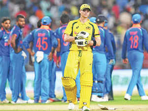 In Chennai, India were down and almost out at 87 for 5. One more wicket and the Australians had an opportunity of getting into the Indian tail. Sadly for them it didn't happen.