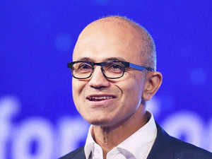 "Nadella said ""while Microsoft's our mission remains constant, technology paradigms come and go""."
