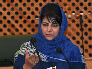"""""""These are welcome signs"""" in Kashmir Valley where people are eagerly waiting for peace to return, the chief minister said."""