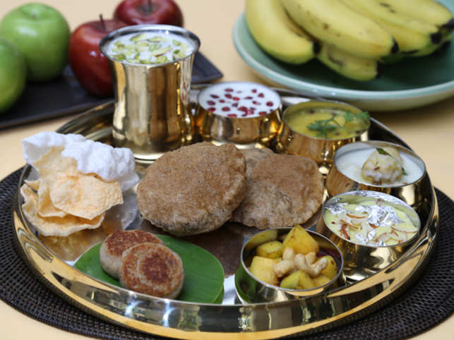 Evening snacks sorted some kuttu recipes to break the monotony this navratra special thali at the lodhi new delhi forumfinder Image collections