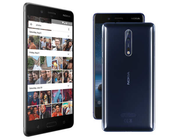 Nokia 8 Powered by Snapdragon 835 SoC launched at Rs. 36999