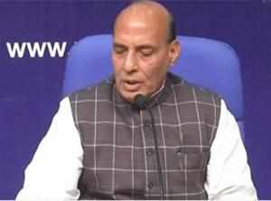 World knows India as fastest growing economy: Rajnath on Sinha article