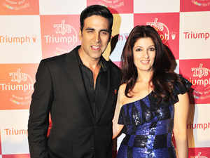 """""""We have signed famous bollywood star couple Akshay Kumar and Twinkle Khanna as our brand ambassador,"""" P C Jewellers Managing Director Balram Garg told."""