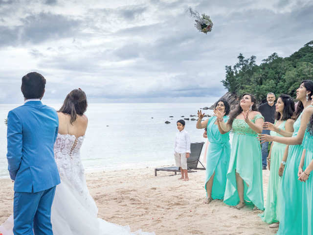 Seychelles can make your wedding celebration magical