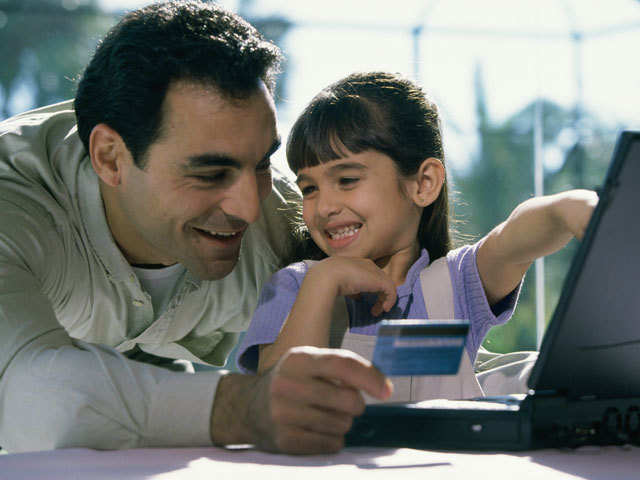 Child's money attitude is shaped by family