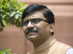 "Shiv Sena MP Sanjay Raut told the media: ""The stampede on the foot overbridge at Elphinstone Road railway station is a apublic massacre of the people by the government."""