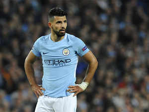 Injured Sergio Aguero is the jointtop scorer in the division on six goals, but is closely followed by teammates Raheem Sterling and Gabriel Jesus.