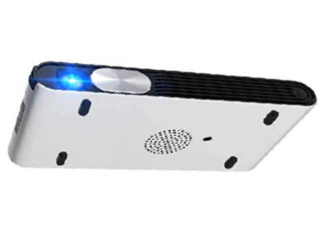 This tiny Android projector weighs just 890 grams but packs in a bright LED light source.
