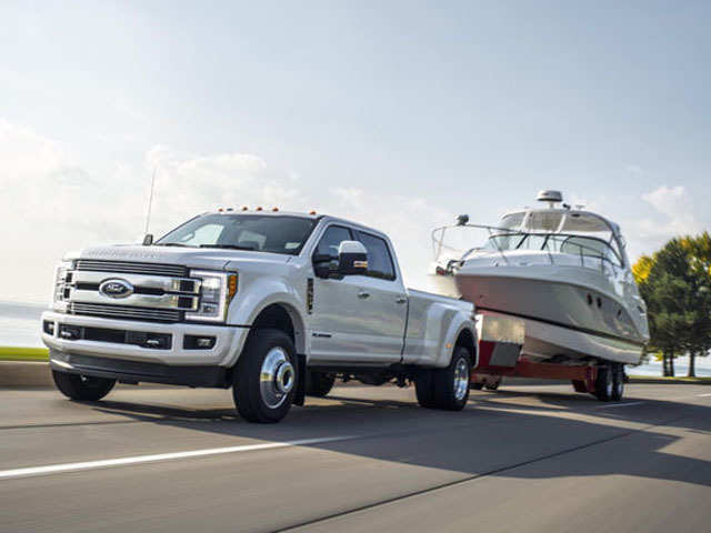 Ford S Most Luxurious Pickup Truck To Cost 100 000 Towing In