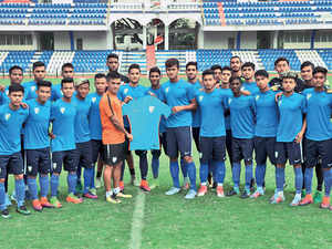 Captain Amarjit, midfielders Suresh Singh Wangjam and Abhijit Sarkar, striker Aniket Jadhav and goalkeeper Dheeraj Singh Moirangthem are among those tipped to play a key role for India.
