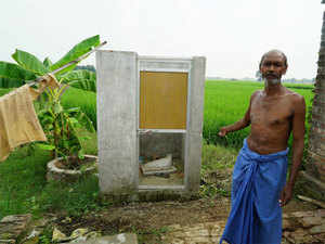 To make things worse, some toilets don't have provision for water and others are not connected to sewage systems.
