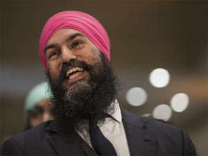 Trudeau's cabinet has three Sikhs, including defence minister Harjit Singh Sajjan and industry minister Navdeep Bains.
