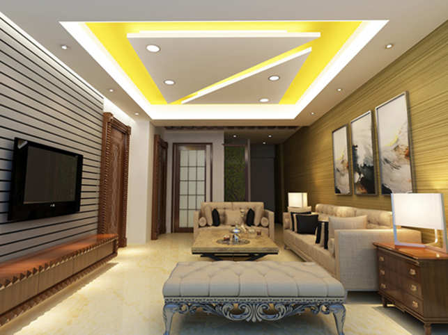 Though Having A Designer Ceiling May Appear As A Slightly Expensive  Proposition At First, It