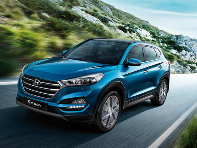 hyundai suv tuscon hyundai rolls out premium suv tucson with 4wd at rs lakh. Black Bedroom Furniture Sets. Home Design Ideas
