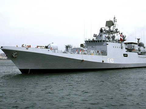 INS Trishul thwarts pirate attack on Indian ship in Gulf of