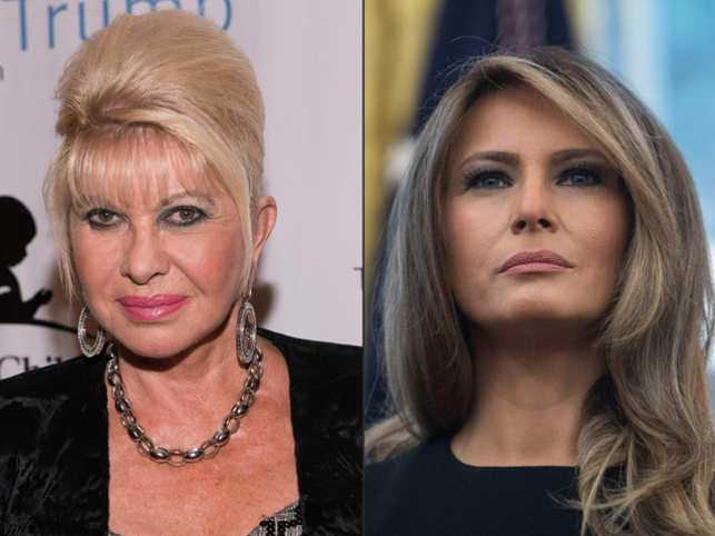 While promoting her new book, 'Raising Trump', Ivana attempted a little joke when describing her longstanding relationship with the 45th US president.
