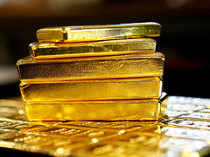 Gold fell 0.02 per cent to USD 1,287.10 an ounce in Singapore.
