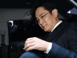 The 49-year-old Jay Y. Lee was convicted by a lower court in August of bribing former president Park Geun-hye to help strengthen his control of the crown jewel in the conglomerate, Samsung Electronics.