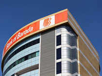 Shares of Bank of Baroda were trading up in Thursday's early trade.