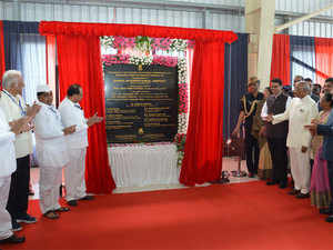 President Ram Nath Kovind had inaugurated the international airport, in Maharashtra's Ahmednagar district, on October 1.