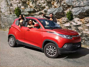 Mahindra and Mahindra launches a new version of its KUV100