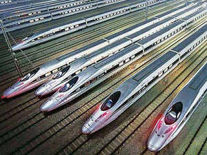 Central Japan Railway Co, which operates bullet trains between Tokyo and Osaka, said aluminum components connecting wheels to train cars failed Japanese industry standards