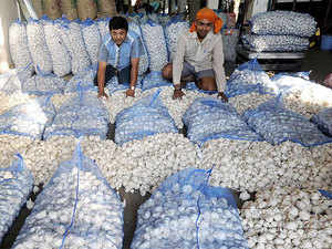 The rising export trend in garlic from India started last year. The year 2016-17 saw garlic export value shoot up 92% to a record Rs 307.11 crore from a year before.