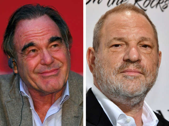 Former Playboy Model Accuses Oliver Stone Of Groping Her Breast