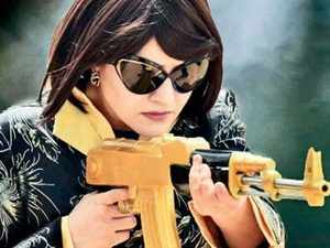 """Honeypreet topped a list of 43 people """"wanted"""" by the state police in connection with the violence."""