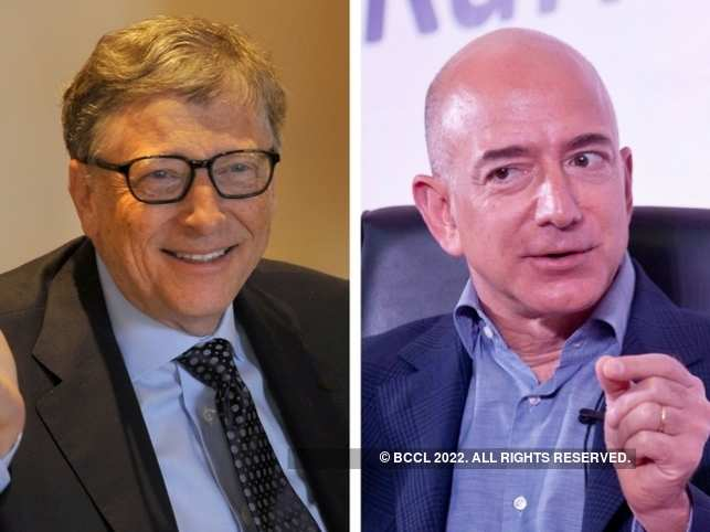 Bill Gates is losing the world's richest title to Jeff Bezos, thanks to his philanthropy