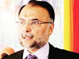 The interior minister said Pakistan's economy was much more stable as compared with the situation in 2013.