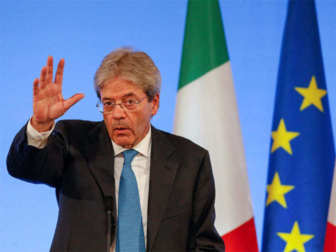 India to host Italian PM Paolo Gentiloni, first in a decade