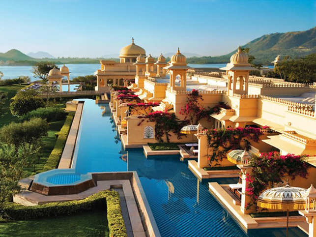 The luxurious Oberoi Udaivilas, Udaipur is a dream getaway.