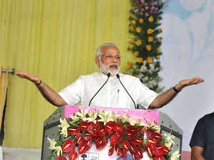 Modi began his nearly 30-minute speech in Magahi dialect and praised the people of Mokama. He recalled the city's connection with the mythological warrior sage Parashuram.