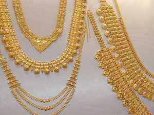 gold jewellery Demand for gold jewellery falls around 30 in run