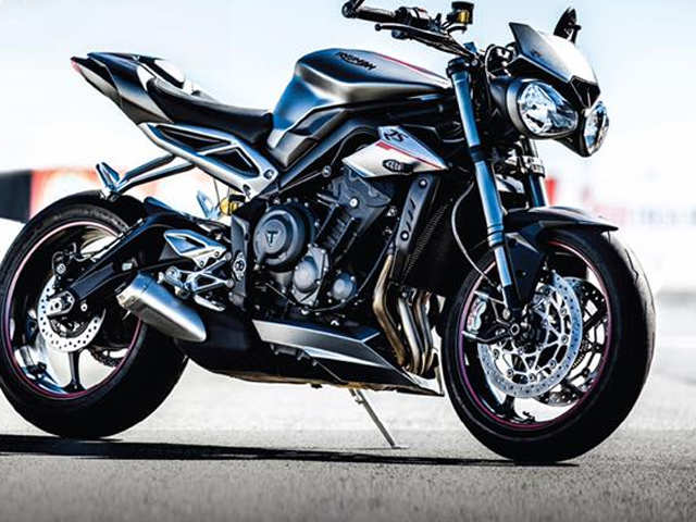 Triumph launches Street Triple RS at Rs 10.55 lakh