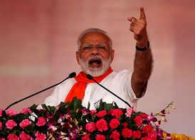 We don't believe in dynastic politics:PM Modi
