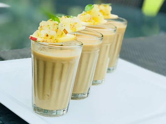 Diwali recipe with a twist: Bhapa mistidoiwith apple and cinnamonhalwa