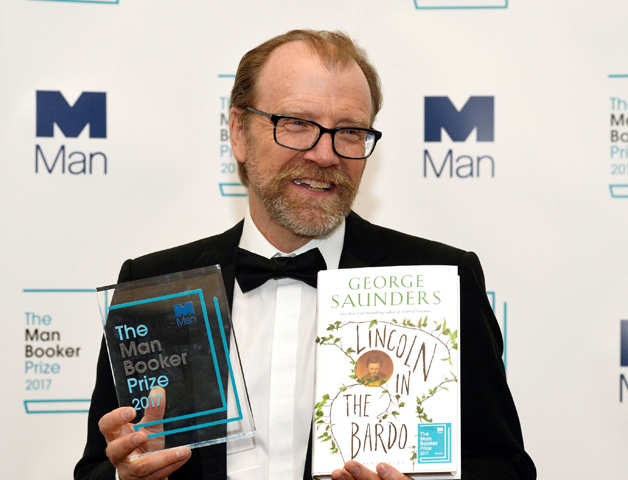 George Saunders wins 2017 Man Booker Prize for 'Lincoln in the Bardo'