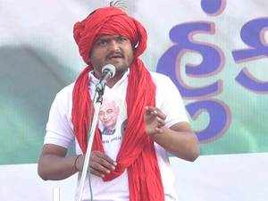 Unfazed by the announcement of his key aides, Hardik Patel said in a tweet he that will continue to fight for the people.