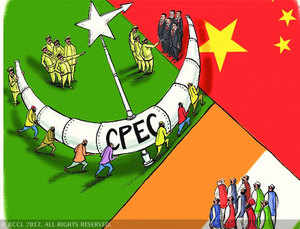 The CPEC, which traverse through Pakistan-occupied Kashmir, will connect Xinjiang with Pakistan's seaport Gwadar through a network of rail, road and pipeline.