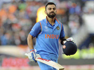 Kohli is now only behind Sachin Tendulkar, who amassed 49 ODI hundreds besides a staggering 51 centuries in Tests.