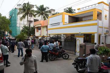 GST intel wing raid actor Vishal's production company office in Chennai