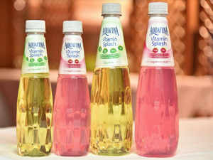 PepsiCo said the new product, called Aquafina Vitamin Splash priced at Rs 30 and 50, had the lowest sugar component in its category compared to others in the domestic market.