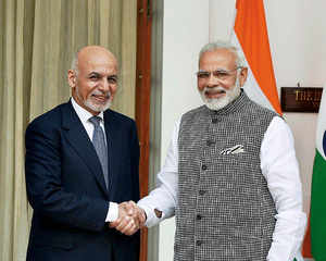 PM Modi meets Afghan prez, hold talks on terrorism