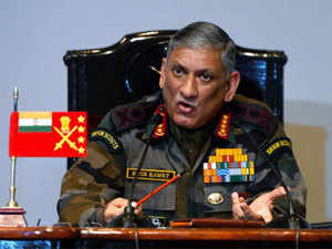 Appointment of interlocutor will not impact Army operations in J-K: Army chief Gen. Bipin Rawat