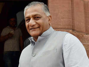V K Singh in Iraq to coordinate search operation for missing Indians