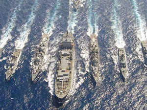 Navy to implement new plan for warships in Indian Ocean region