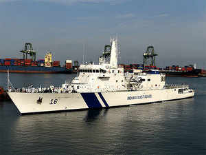 L&T hands over offshore patrol vessel to Coast Guard